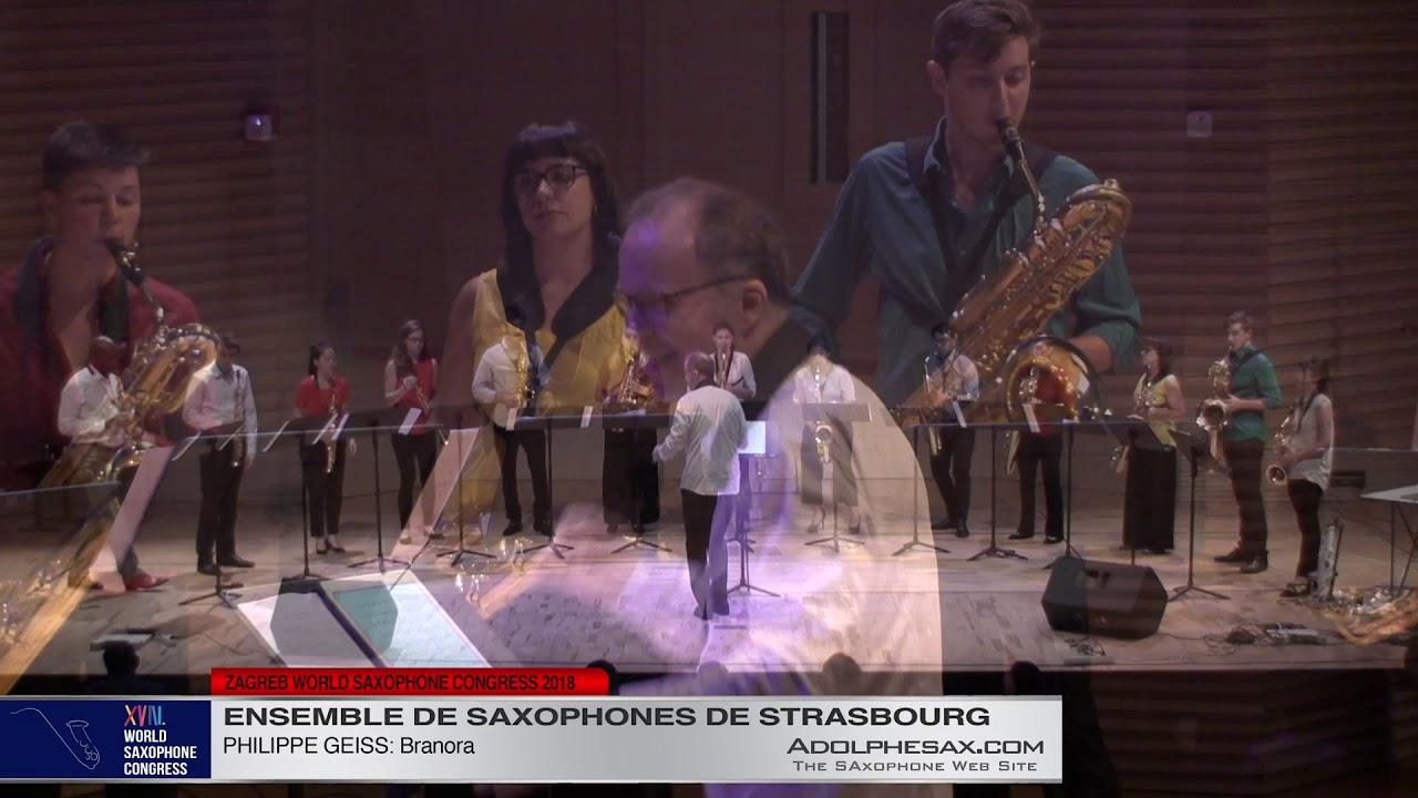 Branora by Philippe Geiss   Ensemble de Saxophones de Strasbourg   XVIII World Sax Congress 2018 #ad