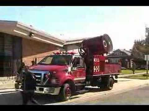 Chicago Fire Department Mobile Ventilation Unit in Action