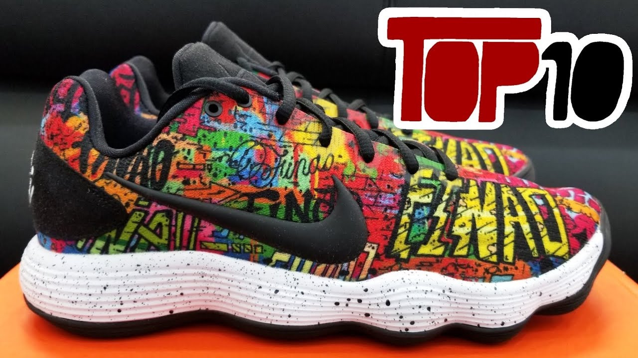 Top 10 Most Colorful Shoes Of 2017