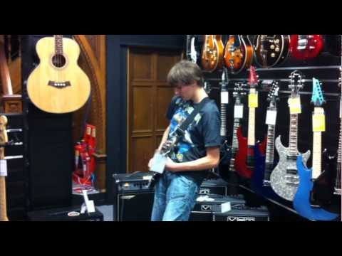 Dawsons Music - The Great Yorkshire Shred Off! #9 Oli Griffiths