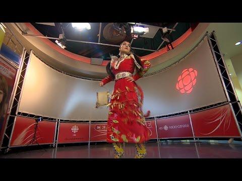 Dancer Tia Wood performs at CBC Edmonton's centre stage Mp3