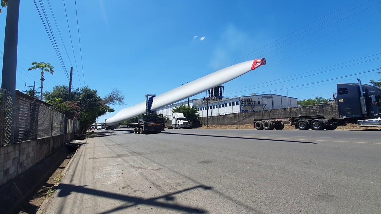 Cargas overzise supera antena gigante guatemalteco en pullman |cargas peligrosas