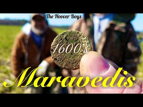1600's Metal Detecting in the USA | Maravedis