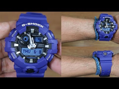 2ee24e079d91 CASIO G-SHOCK GA-700-2A - UNBOXING - YouTube