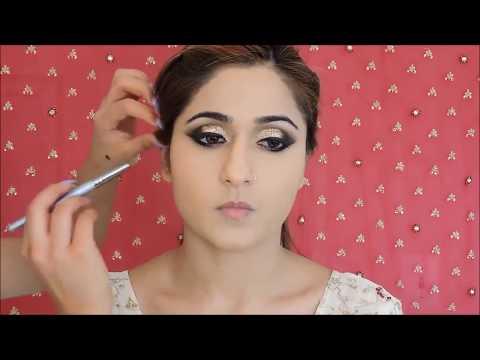 Bridal Makeup Tutorial, Bangladesh, India and Pakistan (with Subtitles).
