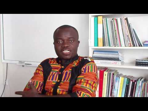About Schools Partnership -- Jeremiah Nettey, Holy Trinity Senior High School, Accra