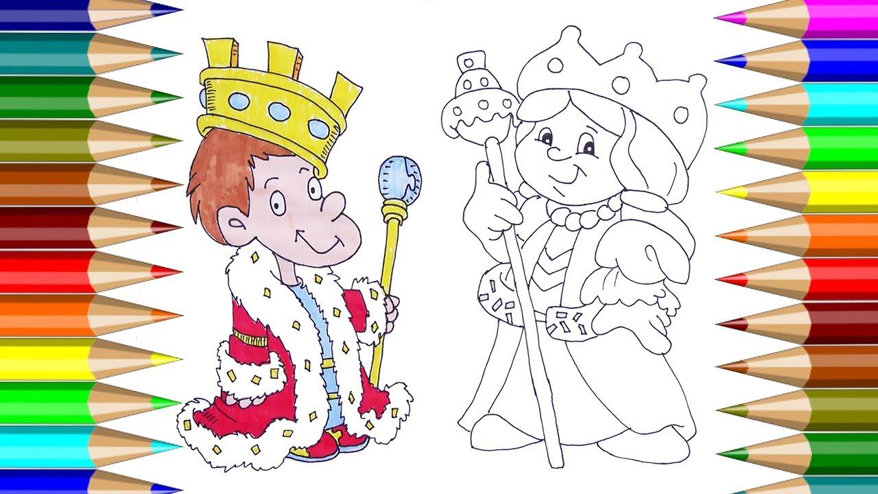 Pequeo Rey y Reina | Cmo dibujar Little King & Queen ...