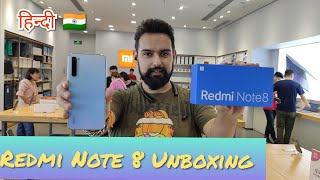 Hindi||Redmi Note 8 Unboxing and First Impression