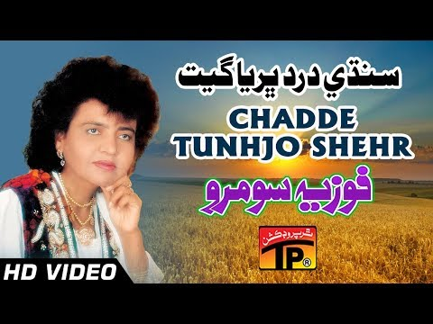 Sindhi Dard Bharya Geet - Chadde Tunhjo Shehr - Fozia soomro - Sindhi Full HD Song