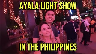 Christmas in the Philippines! Ayala Triangle Light Show