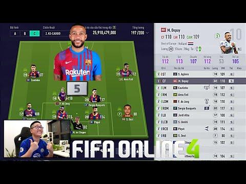 FIFA ONLINE 4: Quẩy Rank Cùng Hàng EBS +5 Tiếp Theo & Đi Chợ Xây Team MAX BING  | 05-09-2021