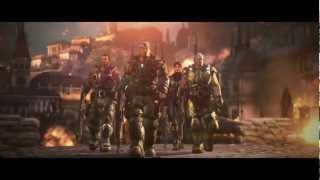 Gears of War Judgment Trailer ft. Song Shooting the Moon by Mona