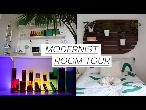 MINIMALIST AND MODERN ROOM TOUR - Art Student Edition
