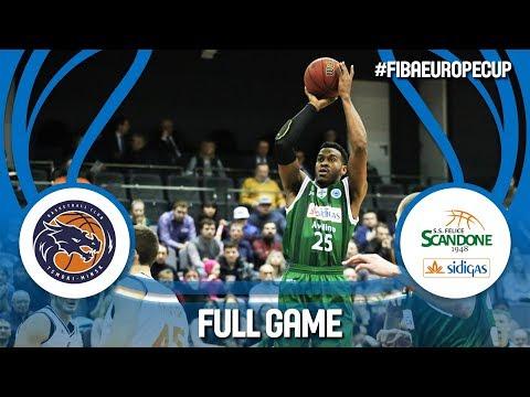 Tsmoki-Minsk (BLR) v Sidigas Scandone Avellino (ITA) - Full Game - RD of 16- FIBA Europe Cup 2017-18