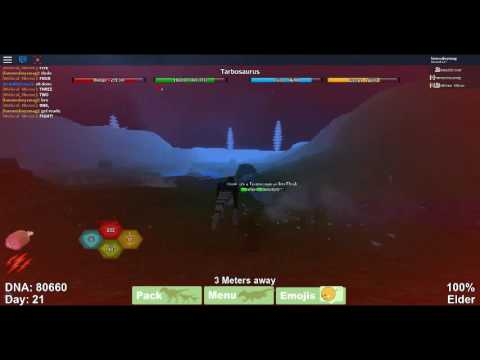 {Dinosaur Simulator} Tarbosaurus vs. Tyrannosaurus Rex