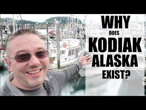 WHY DOES KODIAK ALASKA EXIST? |Somers In Alaska Vlogs