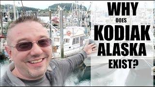 why does kodiak alaska exist? somers in alaska vlogs