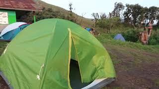Camping in Dzukou
