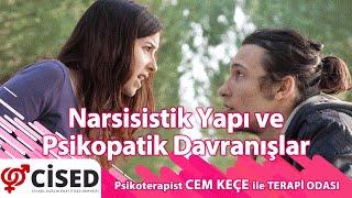 Narsisistik Yapı ve Psikopatik Davranışlar  Terapi Odası