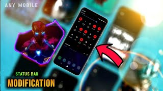 How To Change System Status bar Any Android | Without Root 2019