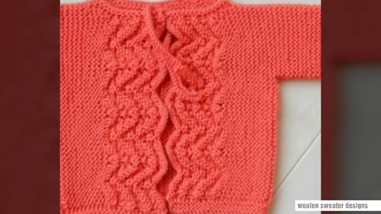 88bb42c06e39 New sweater design in hindi - knitting pattern - YouTube