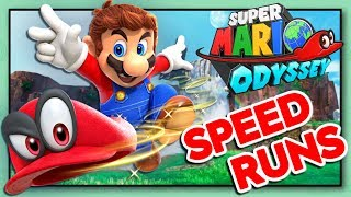 NO DAMAGE SPEEDRUN ATTEMPTS | Super Mario Odyssey Any% Speedruns