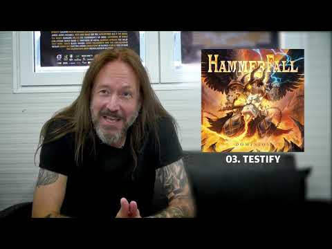 HAMMERFALL - Testify (Dominion Track by Track) | Napalm Records
