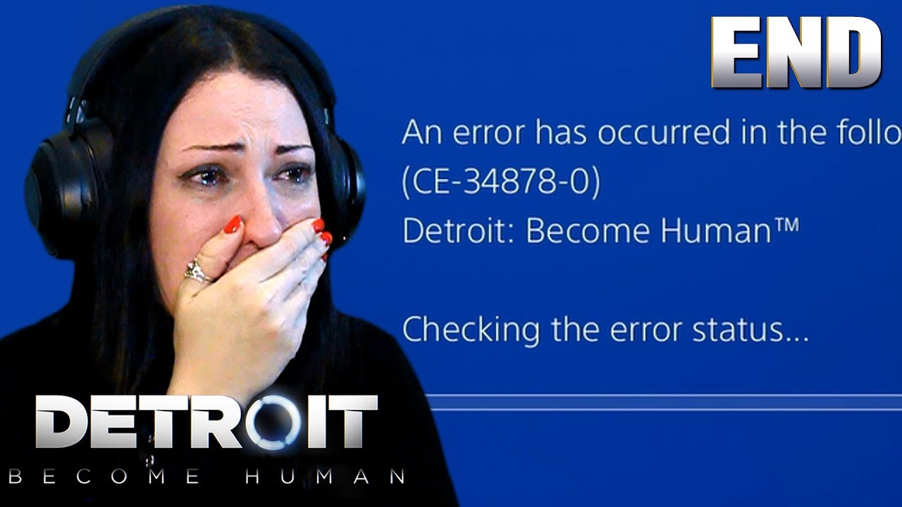 Detroit Become Human Ending Software Instability Youtube