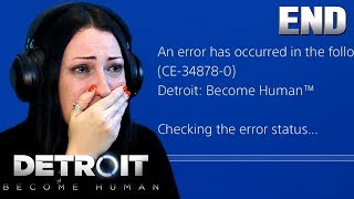 DETROIT BECOME HUMAN Ending - SOFTWARE INSTABILITY