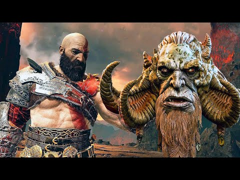 God of War 4 All Kill Death Scenes Finishing Moves