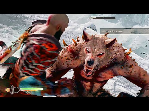 God of War 4 All Boss Gods Death Scenes Finishing Moves