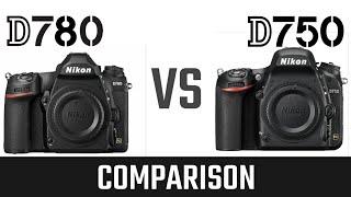 Nikon D750 vs Nikon D780, Specs Comparison