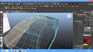 Criar carro 3D Autodesk Maya 2013 parte 24