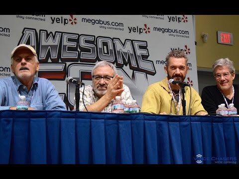 TMNT Voice Actor Q&A at Awesome Con 2015