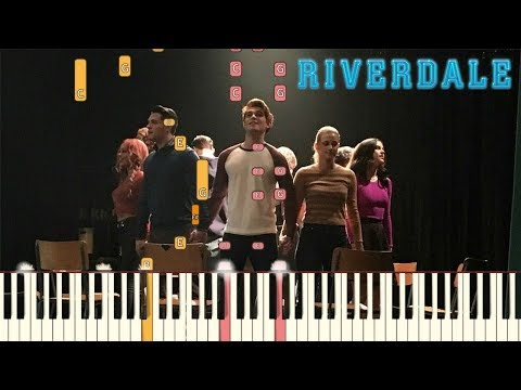 """Riverdale """"Carrie: The Musical"""" - In   Piano Tutorial (Synthesia)"""