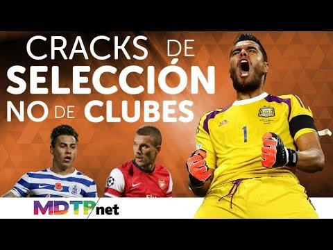 Cracks de selección, NO de clubes
