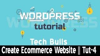 Erstellen einer E-commerce-Website mit WordPress Online-Shop wie Amazon, Flipkart 2018 || Hindi