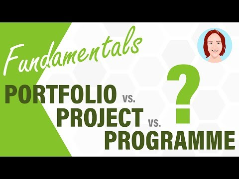 The Differences Between Portfolio, Programme and Project Management | Fundamentals