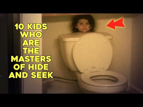 Thumbnail: 10 Kids Who Are The Masters Of Hide And Seek