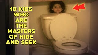 10 Kids Who Are The Masters Of Hide And Seek thumbnail