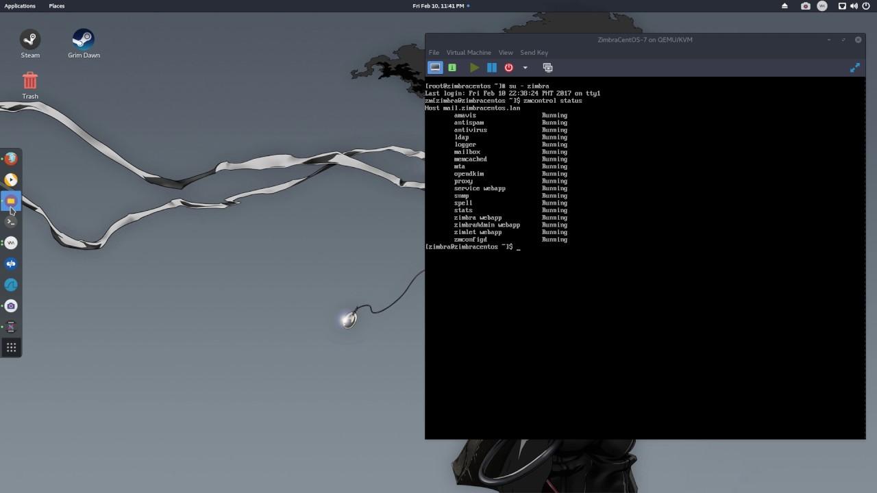 Zimbra 8 7 on CentOS 7 - Install And Configure Zimbra