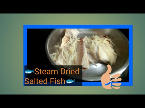 How To Steam Dried Salted Fish 🐟simple@easy