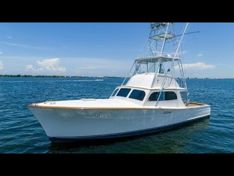 1973 Merritt 42' Custom Sportfish JENNY PIE - For Sale With HMY Yachts