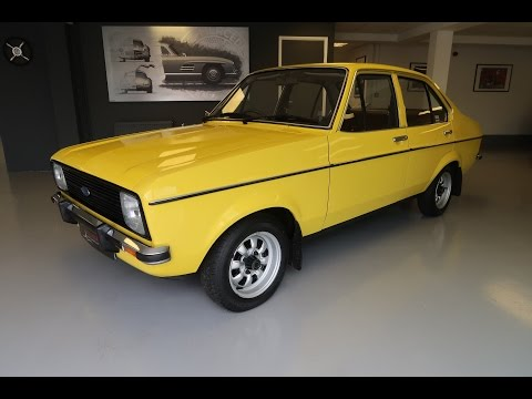 SOLD - 1980 Ford Escort Mk2 GL 1.3 Signal Yellow For Sale Lincolnshire