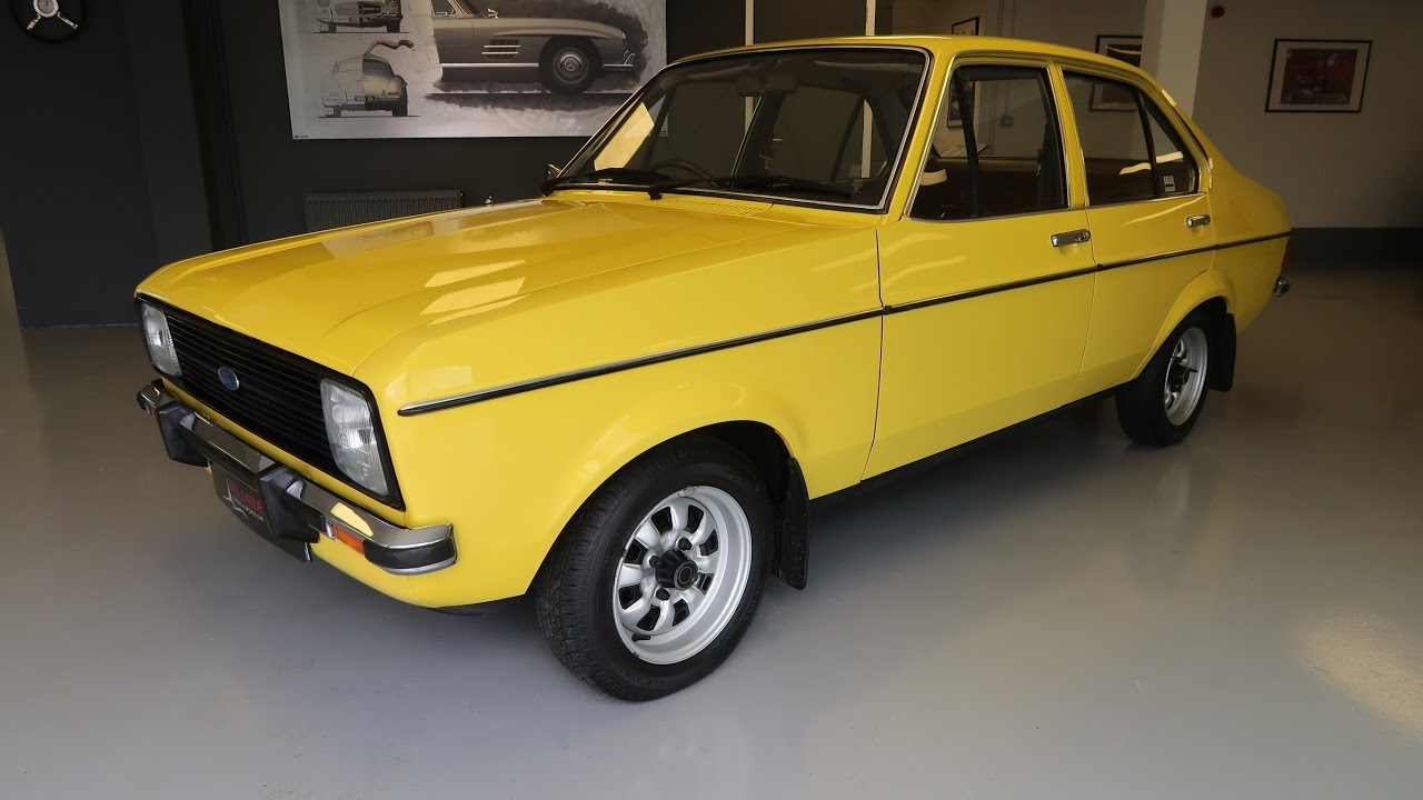 SOLD - 1980 Ford Escort Mk2 GL 1.3 Signal Yellow For Sale ...