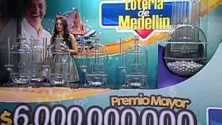Sorteo de la Lotería de Medellín número 4243 - 7/11/2014