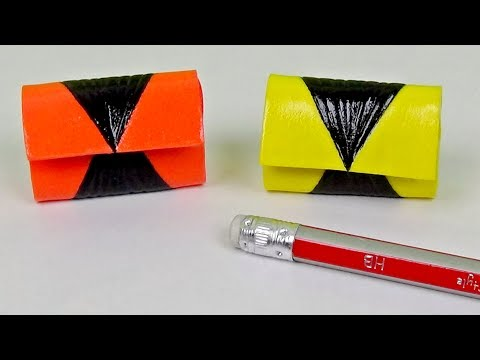 Diy miniature hand bag │ Miniature purse for doll diy │ Doll Stuff