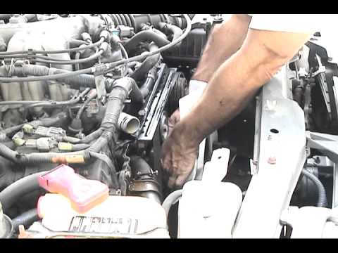 nissan frontier  timing belt change part    youtube