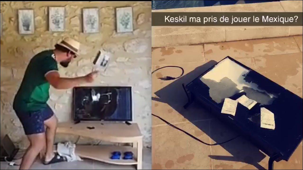 Mohamed Henni PÈTES LES PLOMBS ET EXPLOSE LA TÉLÉ !!