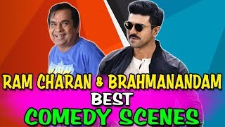 Ram Charan u0026 Brahmanandam Best Comedy Scenes | South Indian Hindi Dubbed Best Comedy Scenes